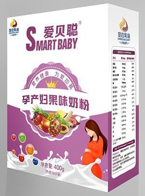 胜博发266手机平台孕产妇果味奶粉
