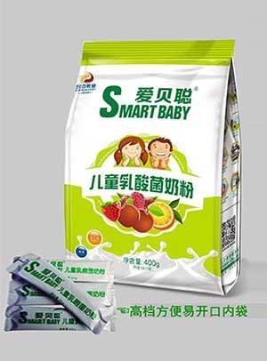 胜博发266手机平台儿童乳酸菌奶粉(果味+益生菌)