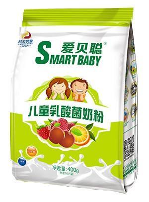胜博发266手机平台儿童乳酸菌奶粉400g袋