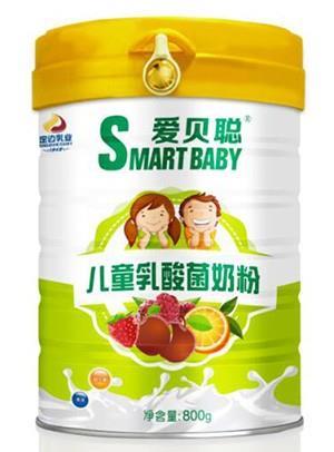 胜博发266手机平台儿童乳酸菌奶粉800g罐