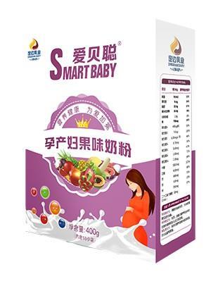 胜博发266手机平台孕产妇果味奶粉400g盒