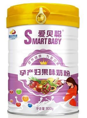 胜博发266手机平台孕产妇果味奶粉800g罐