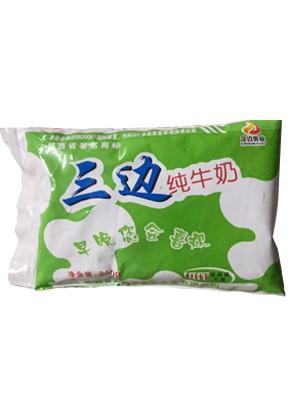 三边纯牛奶-内包装