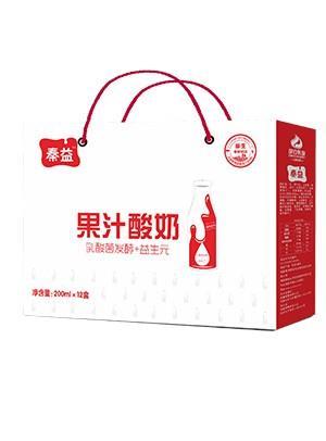 果汁酸奶-外包装